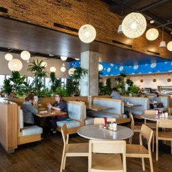 Dining Area of Kerbey Lane Cafe Mueller in Austin, Texas